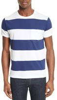 Todd Snyder Men's Oversize Stripe Pocket T-Shirt