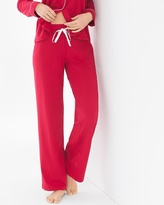 Soma Intimates Embraceable Pajama Pants Ruby