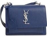 Saint Laurent 'Small Monogram Sunset' Leather Shoulder Bag