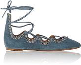 Isabel Marant Women's Leo Lace-Up Flats