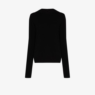 Rick Owens Knitted Cashmere Wool Hoodie