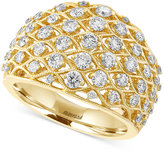 Effy D'Oro By Diamond Openwork Ring (1-1/4 ct. t.w.) in 14k Gold