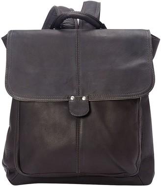 Le Donne Leather Saddle Backpack