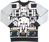 Molo Videogame Printed Cotton Sweatshirt