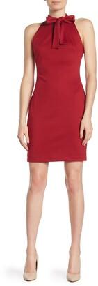 Alexia Admor McKenzie Front Bow Sheath Dress