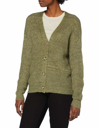 Pieces Women's PCSEMELE LS Knit Cardigan Sweater