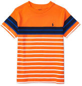 Ralph Lauren Striped Cotton Jersey Tee