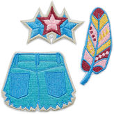 Asstd National Brand Bag Sticker Patches