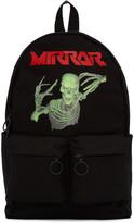 Off-White Black Skull Mirror Backpack