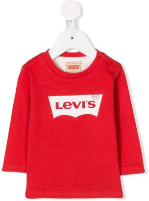 Levi's Kids logo print top