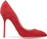 Sergio Rossi Secret suede pumps
