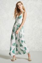 Forever 21 Contemporary Palm Leaf Dress