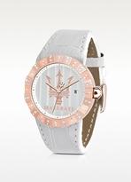 Philippe Starck Maserati Tridente - Rose Golden Stainless Steel Women's Watch