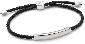 Monica Vinader Engravable Men's Linear Friendship Bracelet