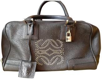 Loewe Amazona Brown Leather Handbags