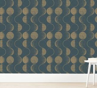 Pottery Barn Kids Tempaper Moons Wallpaper
