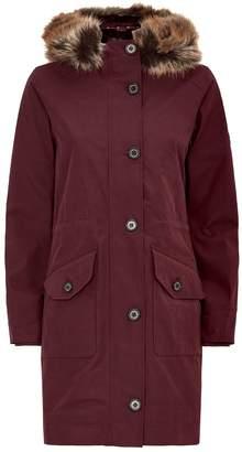 Barbour Tellin Faux Fur Hooded Jacket