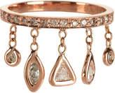 Jacquie Aiche Pave Five Diamond Shaker Ring