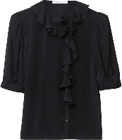 Rodebjer Xilla Silk Shirt - S - Black