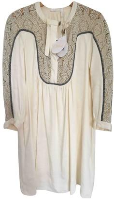 Chloã© ChloA Beige Linen Dresses