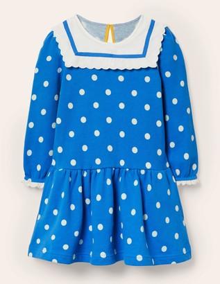 Boden Nautical Sweatshirt Dress