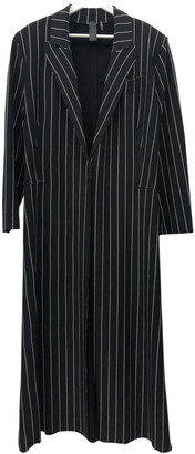 Norma Kamali Black Polyester Coats