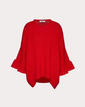 Valentino Cashmere Wool Jumper Women Red XS
