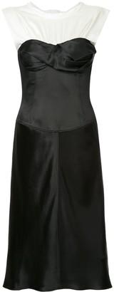 Alexander Wang Satin Twisted Cup dress