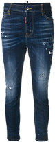 DSQUARED2 Cool Girl bleached effect jeans