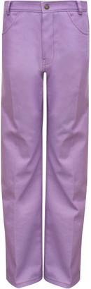 REJINA PYO Sawyer Rigid Cotton-Blend High-Rise Wide-Leg Jeans