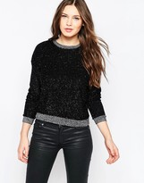 French Connection Sparkle Nights Crop Top