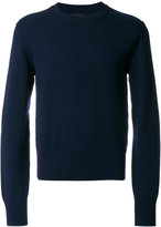 Dolce & Gabbana exposed shoulder seam jumper - men - Virgin Wool - 46