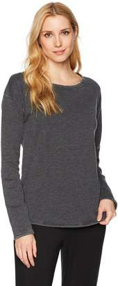 Felina Women's Cora Loungewear Long Sleeve Crew Neck Top