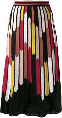 M Missoni all-over print skirt