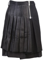 Tuesday Night Band Practice Pleated mini skirt