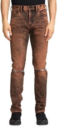 PRPS Le Sabre Distressed Acid Wash Jeans