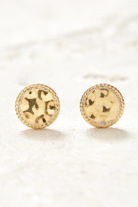 Anna Beck Gold Signature Hammered Stud Earrings Gold 1 Size