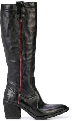 Fauzian Jeunesse' Fauzian Jeunesse polished knee boots