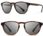 Shwood Men's 'Francis' 49Mm Polarized Sunglasses - Bourbon/ Elm/ Grey