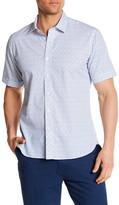 Toscano Short Sleeve Sailor Print Regular Fit Shirt