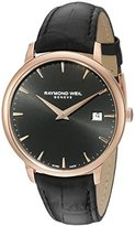 Raymond Weil Men's 5488-PC5-20001 Analog Display Quartz Black Watch