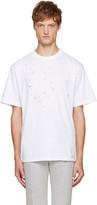 Satisfy White Moth Eaten T-Shirt