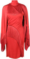 Givenchy Dress with Fringing - women - Acetate/Viscose - 40