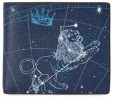 Michael Kors Leo Leather Astrology Billfold