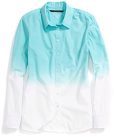 Tommy Hilfiger Final Sale- Dip Dyed Oxford Shirt