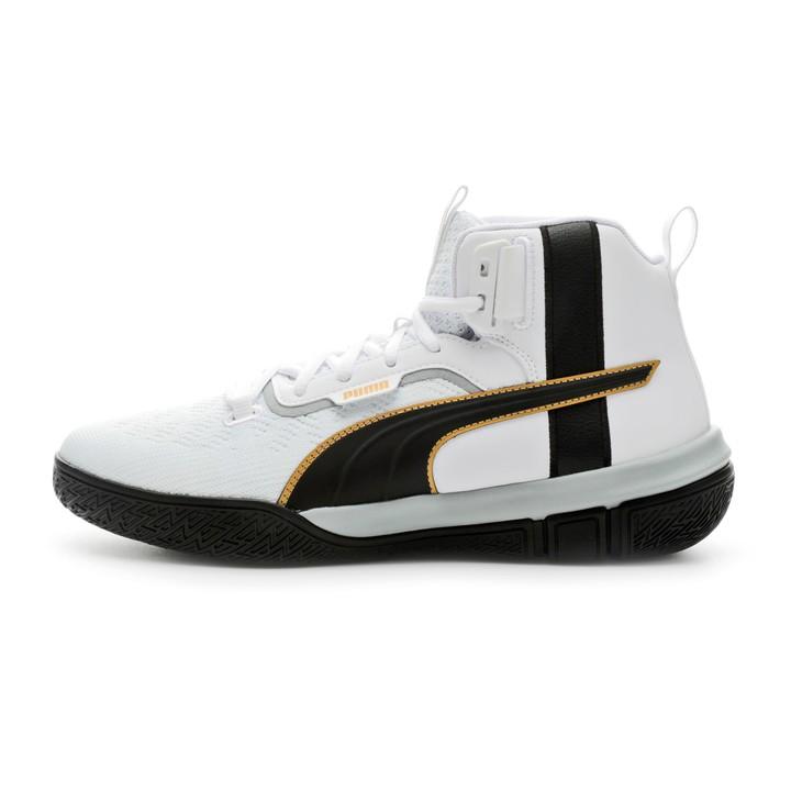 puma basketball shoes green