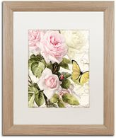 Trademark Fine Art Flora Bella Distressed Framed Wall Art