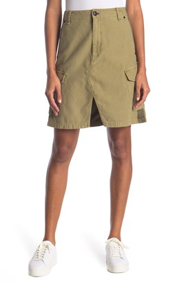 Rag & Bone Super High Rise Cargo Skirt