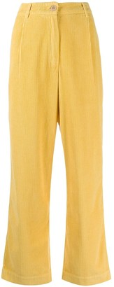 Folk Corduroy Straight Leg Trousers