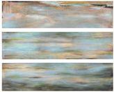 Uttermost 3-pc. ''Horizon View'' Panel Canvas Wall Art Set